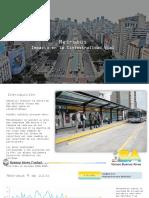 Efecto Metrobus en La Siniestralidad Vial