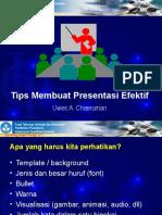 uwes_tips_membuat_presentasi_efektif.ppt