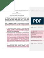 ESTATUTO ORGÁNICO de OSP Comentarios Combinados 2