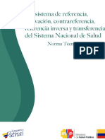 Norma Técnica Subsistema de Referencia y Contrareferencia