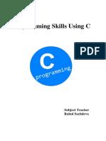 Programming Skills Using C