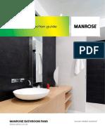 Manrose Classic Xp Fan Models Brochure