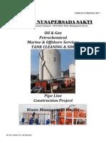 Company Profile PT. Bima Nusapersada Sakti