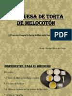 Marquesa de Torta de Melocotón ¡Deliciosa elección!