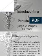 01 Introduccion a La Parasitologia