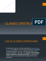 Clases Cristalinas