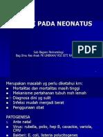 Kuliah Infeksi Pada Neonatus
