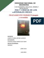 5. Tratamiento Termico (Temple y Revenido)