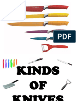 Kinds of Knives
