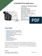 Hikvision DS-2CE16D0T-IT5 Exir Bullet Camera
