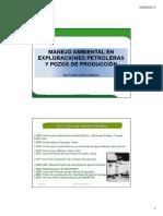 Clase 2 _ Manejo Ambiental en Exploraciones Petroleras y Pozos de Produccion