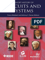 A Short History of Circuits and Systems- eBook- Web