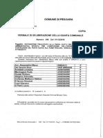 PONTE NUOVO DELIBERA DI GIUNTA 2016-GC-0846