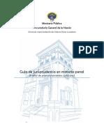 Guía de Jurisprudencia Penal 2016