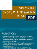 ENDOCRINE SYSTEM and Disorders Lecture