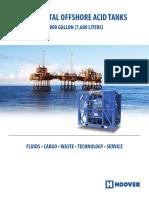Hoover Horizontal Offshore Acid Tanks