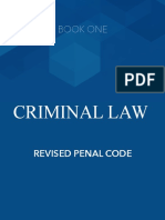 Criminal Law Book One Notes