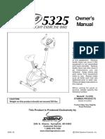 Bicicleta magnetica Stamina 5325