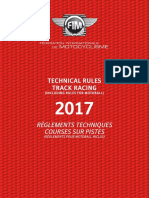 2017-3 Track Racing Technical Rules