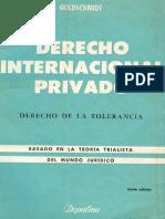 1300 Goldschmidt - Derecho Internacional Privado