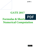 General Aptitude Shortcuts and Forumulas