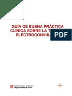 Guía sobre buena terapia electroconvulsiva