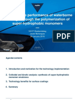 2016-01-26 - Nuplex - Enhancing the Performance of Waterborne Coatings Through the Polymerization of Super Hydrophobic Monomers