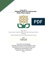 Mazhab Tafsir Di Indonesia Pada Masa Depan (Pak Chirzin)