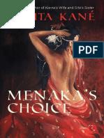 Menaka #039 s Choice - Kavita Kane