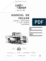 Land Rover Santana Manual de Taller - Portada e Introduccion