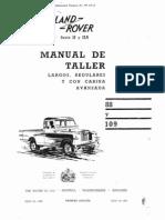 Land Rover Santana Manual de Taller - Portada e Introduccion