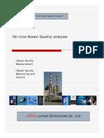 Steam Quality Analyzer