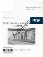 Rock Blasting and Overbreak Control