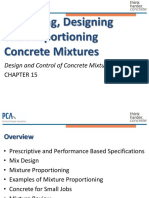 PCA Chapter 15 - Specify, Design, Proportion