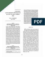 Aufderheide, A., Rivera, M. - Chemical Dietary Reconstruction Chinchorro(1995)