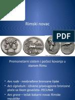 Rimski Novac Prezentacija