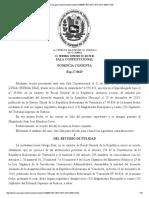 TSJ Exp 17-0625 Sala Constitucional
