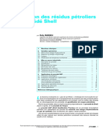 Gazéification Des Résidus Pétroliers Par Le Procédé Shell