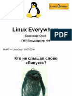 Linux Everywhere