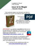 Extrait Amour Et Magie