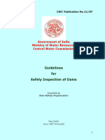 Safety Inspection of Dams