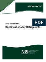 AHRI Standard 700-2015