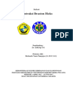 Kontraksi Braxton Hicks
