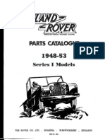 Land Rover Parts Catalogue