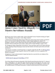 THE JAMES COMEY FILE - James Comey Sued for Allegedly Covering Up Massive Surveillance Scandal - June 15, 2017