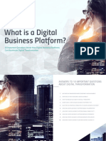 eBook What is a Digital Business Platform