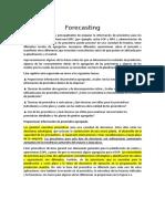 TRADUCCION Del Capitulo 4 Forecasting