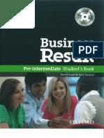 Business Result Pre-Intermediate Student's Book