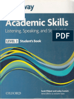 Headway Academic Skills- Listening-Speaking and Skills Level 2-SB