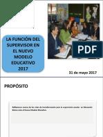 1 LA FUNCIÓN DEL SUPERVISOR EN EL NUEVO MODELO EDUCATIVO.ppt